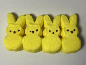 4 ct. Yellow Bunnies