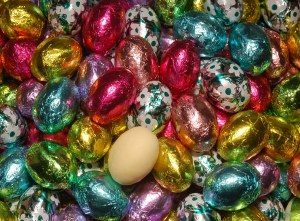 6 oz Bag of White Eggs