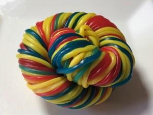 6 oz. Rainbow Licorice Laces