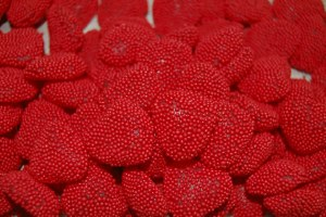 8 oz. Red Raspberry Hearts
