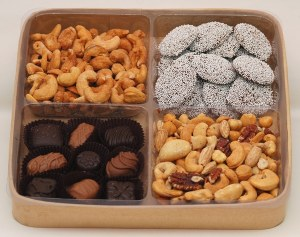 Chocolate and Nuts Tray