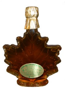 50 ml. Maple Syrup-Leaf