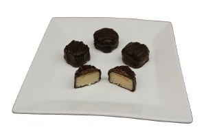 Choc. Covered Marzipan 1/2lb