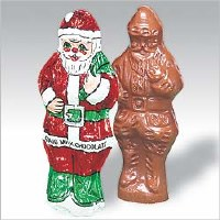 2 oz. Solid Milk Santa