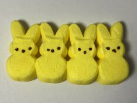 4 ct. Yellow Bunnies