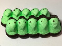 5 ct. Green Peeps Dark Choc