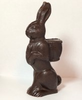 Dark Bunny w/Backpack