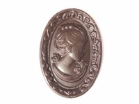 Dark Chocolate Cameo