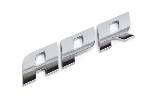 APR Badge Polished Silver