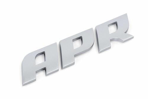 APR Badge Matte Silver