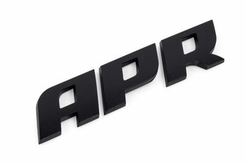 APR Badge Satin Black