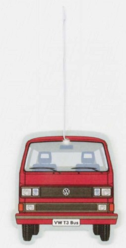 Air Freshener Van Red