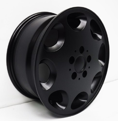 "Alloy 16"" Bus/Van 2WD Wheel Black"