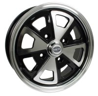 914 Look Wheel Black/Polished Lip 4/130 (EP00-9681)