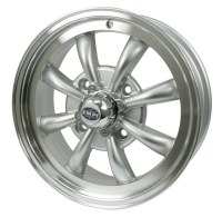 GT-8 Wheel Silver/Polished Lip 4/130 (EP00-9685)