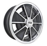 BRM Wheel Black/Polished Lip 5/112 (EP00-9697)