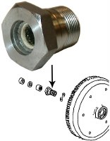 Gland Nut 25-36 HP Engine