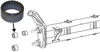 Needle Bearing For Beetle Beam (111401301)