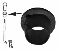Guide Sleeve For Door Lock Pin