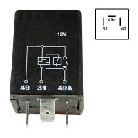 12V Flasher Relay
