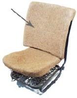 Hair Seat Pad (113881775F-WW)