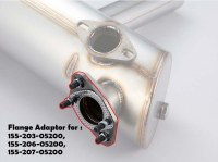 Flange Adapters - 38mm