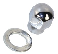Alt/Gen Nut & Washer - Chrome