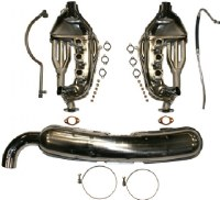 Exhaust Kit 911 3.2L Single