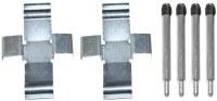 Brake Pad Hard. Kit Van 80-85