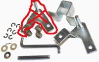 Accelerator Repair Kit T2 68-72 BLEM