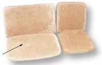 Hair Seat Pad (211881370A-WW)