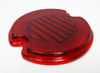 Taillight Lens Bus 58-61 Red