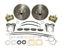 Rear Disc Kit T1 68-72 W/Ebrk DLX Dual Drilled