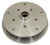 Brake Disc Front Dual Drilled