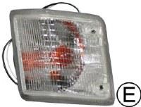 Front Signal Lens Van LH Wht
