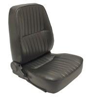 Low Back Seat RH Black