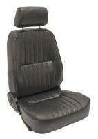 Low Back Seat RH Black w/head
