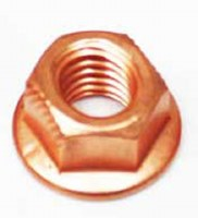 Exhaust Nut. Copper. Each