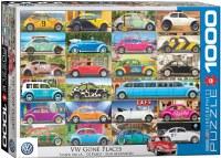 VW Gone Places Puzzle