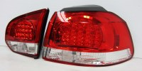 MK6 Golf LED Tails Red.