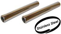 Tailpipes Stainless Steel Beetle/Ghia 56-74