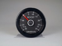 Gauge VW White Boost 30-30 PSI