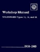 VW T1 1958-1960