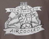 AIRCOOLED ENGINE TEE LARGE
