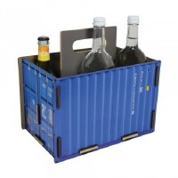 Bottle Carrier-Blue Container