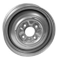 Steel Wheel 15x5.5 4/130 Silver SMOOTHIE