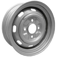Steel Wheel 15x4.5 4/130 SLV