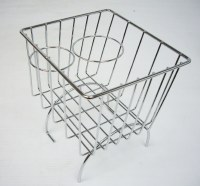 Stow Away Basket - Chrome