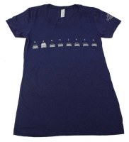C-1 Tee Lineup Bus Womens L