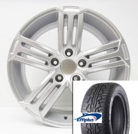 "17"" Winter Wheel Tire Set 012 (SNOWKING)"